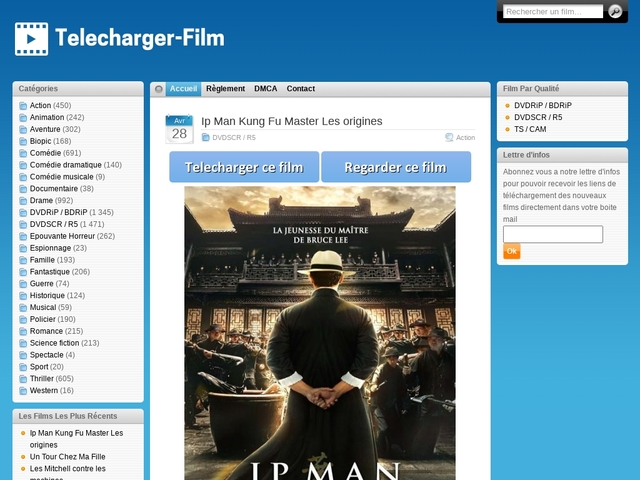 Site de telechargement de films français gratuitement