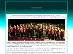 Accueil du site CHANTARTOIS