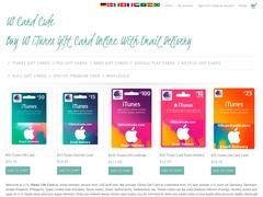 iTunes gift card, iTunes card, iTunes gift certificate