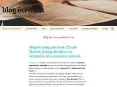 Blog écrivain
