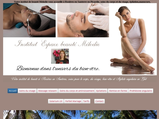 Institut Espace Beauté Mélodie Rosières en Santerre