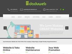DADUWEB - Web Design & Web Developer Jakarta
