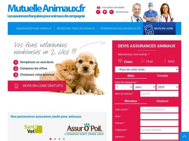 Comparateur gratuit de mutuelle animaux