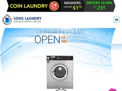 COIN LAUNDROMATS SERVICES,DRY CLEANING, ALTERATIONS, WASH AND FOLD SERVICES.