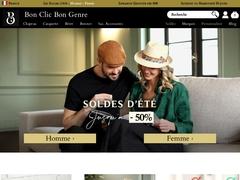 Bon Clic Bon Genre, chapellerie et maroquinerie