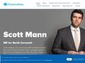 Scott Mann MP (North Cornwall)