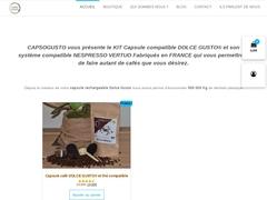 Dosette de café Dolce Gusto - Café Dolce Gusto