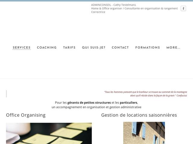 Sainte JALLE - ADMIN CONSEIL organisation et gestion administrative