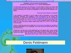 Site personnelle de Denis Feldmann