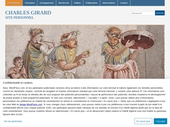 Charles Girard <<; Site personnel