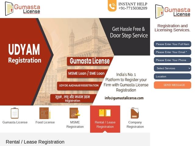 Hassle-Free Gumasta License In Vasai, Thane, Mumbai, Etc.