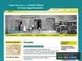 Archives départementales de la Haut-Saône