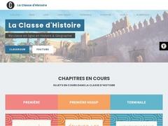 La classe d'histoire