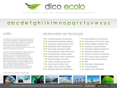 DICO ECOLO