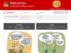 Weblettres