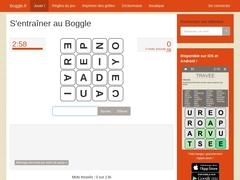 Boggle.fr - Entraînez-vous au jeu de lettres !