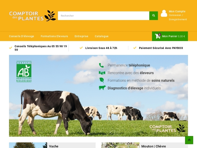 Comptoir des plantes - Comptoir des Plantes
