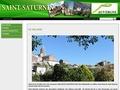 village de saint saturnin dans le puy de dôme en auvergne 63450