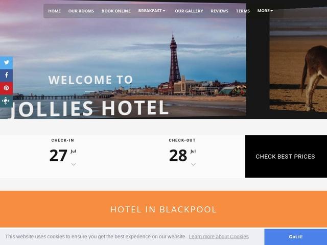Jollies Hotel - Blackpool - Lancashire - England.