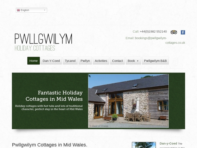 Pwllgwilym Holiday Cottages - Builth Wells - Powys - Wales