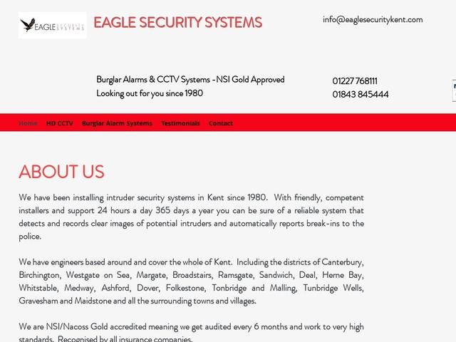 eagle security kent