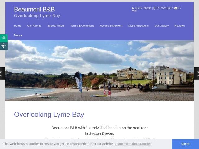Beaumont Guest House - Seaton, Devon.