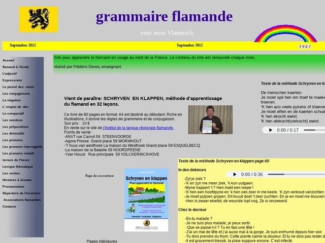 Grammaire flammande