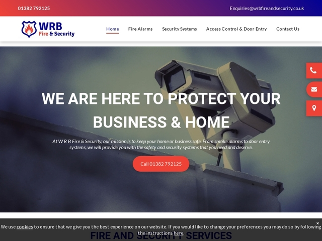 WRB Fire & Security Services