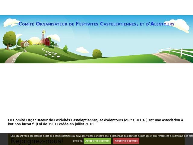 Comité organisateur de festivités casteleptiennes, et d'alentours