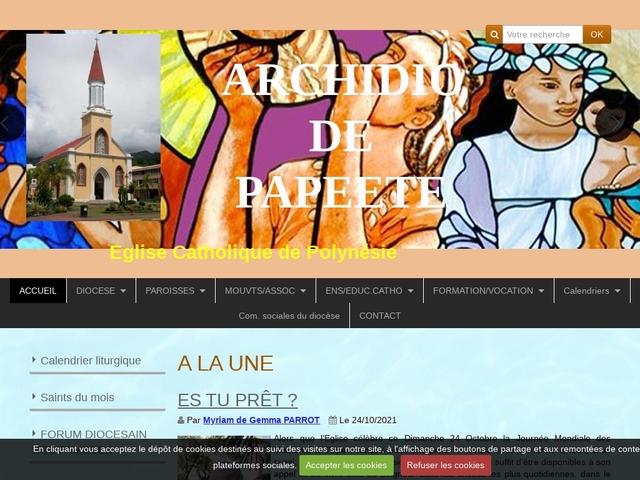 Archidiocèse de Papeete