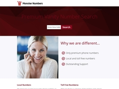 Get vanity Number online