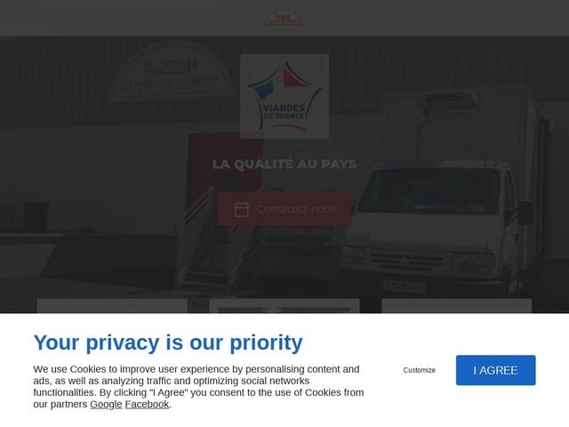 """Boucherie, Produits fermiers """"La Ferme du Lauragais"""""""