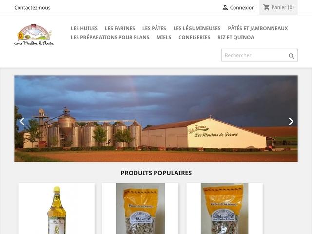 """Boulangerie / Produits du terroir """" Les Moulins de Perrine"""""""