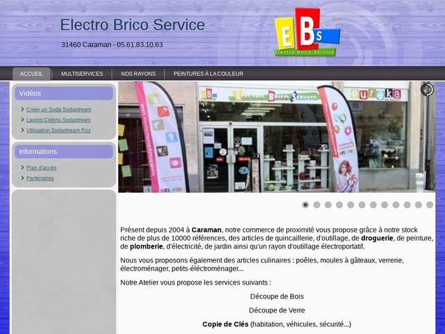 "Quincaillerie / Bricolage ""Electro Brico Service"""