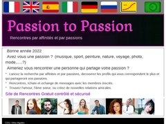 Passion to Passion - Mannuaire.net