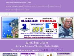 Villeneuve Loubet Serrurerie