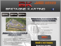 Bretagne Karting - Circuit de kart et paintball