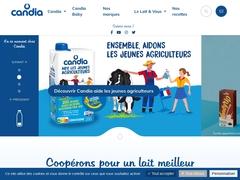 Candia - première marque de lait de consommation en France