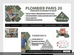 Ou trouvez un plombier Paris 20 : Rapide pas cher