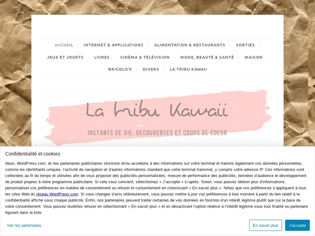 Les tests et bons plans de la tribu Kawaii