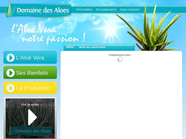 Producteur d'Aloe Vera en pots en Alsace