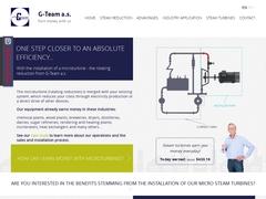 Micro steam turbines