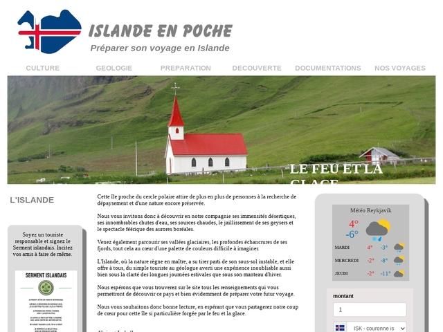 Islandais en poche