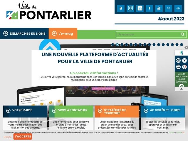25 CONSERVATOIRE de PONTARLIER