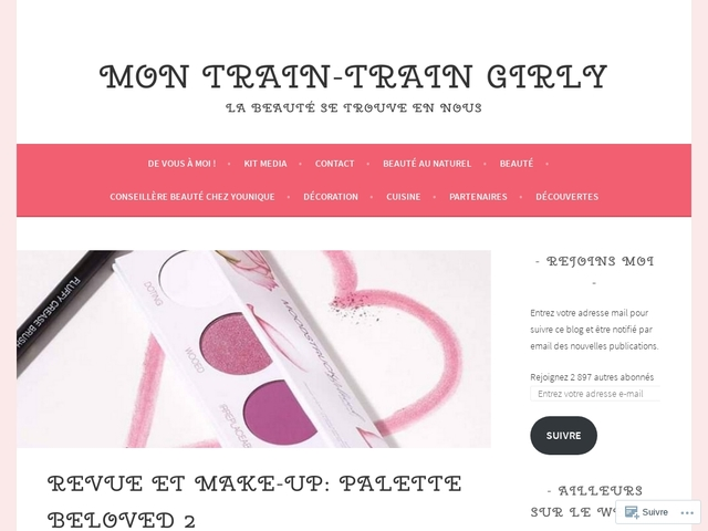 Mon train-train girly