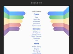 Domain names - babs.blue