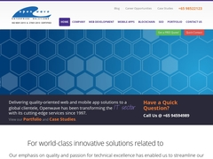 Openwave Computing Singapore Private Limited