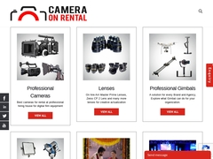 Professional Cameras for rental