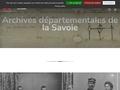 Archives départementales de la Savoie