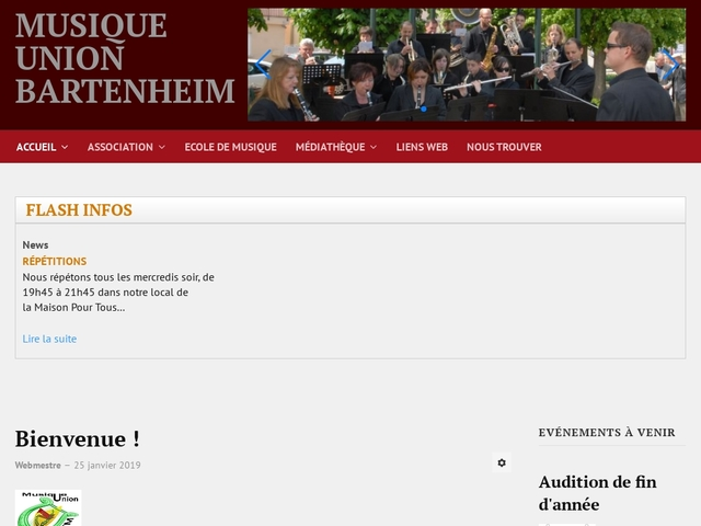 ECOLE DE MUSIQUE de Bartenheim